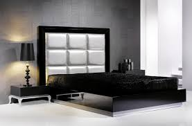 Black Leather Headboard Bedroom Set Headboards Wondrous Black Leather Upholstered Headboard Bedroom