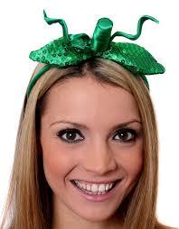 Pumpkin Halloween Costume Ladies Pumpkin Headband Halloween Fancy Dress Accessory Green
