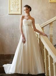 empire wedding dress the reasons to choose empire waist wedding dresses