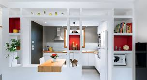 cuisine ouverte sur s駛our amazing cloison cuisine americaine id es de design cour arri re