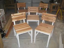 White Patio Dining Sets - ana white harriet outdoor dining chair with cedar slats diy