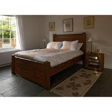 Reclaimed Wood Double Bed Frame Farmhouse Double Bed