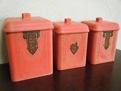 kitchen canister sets australia duperite spice canisters set of 3 in blue ivory bakelite
