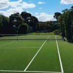 Backyard Tennis Court Cost Cheapest Way To Build A Tennis Court U2013 Easy Simple Landscaping Ideas