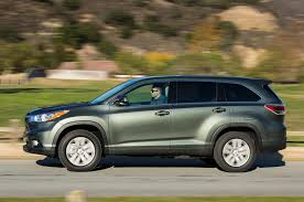 toyota highlander 2014 toyota highlander review automobile magazine