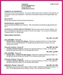 Good College Resume Examples by 11 Job Resume Samples For College Students