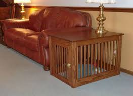 How To Build An End Table Wonderful Diy End Table Dog Crate And Dog Crate Furniture Diy Diy
