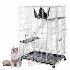 large pet crate cat cage hammock bed color optional thelashop com