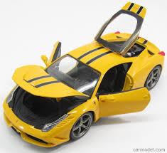 ferrari yellow 458 burago bu16002y scale 1 18 ferrari 458 italia speciale 2013 yellow
