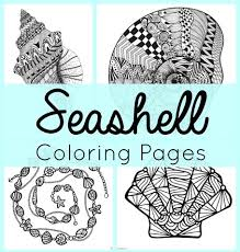 168 best shell zentangle images on pinterest painting coloring