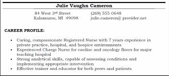 professional profile resume resume templates