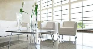 Global Reception Desk Global Total Office 2 Piece Wind Leather Reception Furniture Set