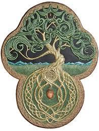 amazon com the celtic tree of cast paper large tree
