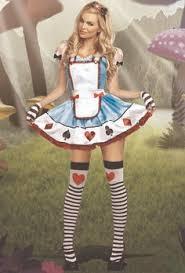 Alice Wonderland Costume Halloween Cheshire Cat Pink Purple Black Bra Skirt