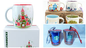 starbucks released new collection at disney world and
