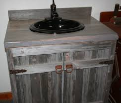 Wood Bathroom Cabinet by Weathered Gray Reclaimed Wood Bathroom Vanity By Viennawoodworks