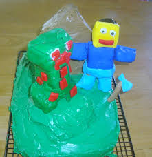 nowamomof3 how not to make a minecraft cake