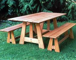 Make Outdoor Picnic Table by 305 Best Picnic Tables Images On Pinterest Picnics Picnic Table
