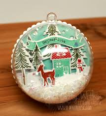 creativity within snow globe and ornaments kits are back