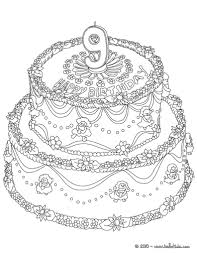 birthday cake coloring pages birthday cake 10 coloring pages