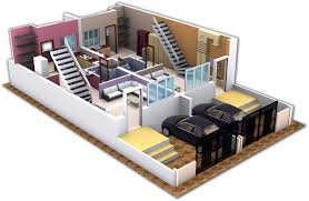 Free House Building Plans by 3d House Planner Bedroom Plans This Urban Home From Estado