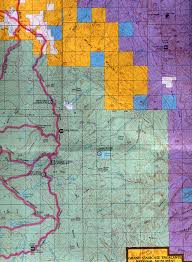 Map Of Arizona And Utah by Buy And Find Utah Maps Bureau Of Land Management Hunting Units