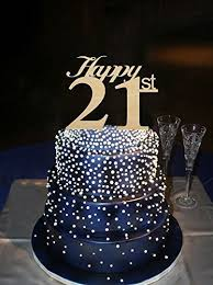 21 cake topper happy 21st wedding cake toppers rustic anniversary