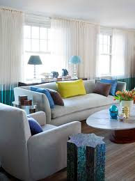 Gorgeous Sofa Combination Color Two Leather Living Room Furniture - Combination colors for living room