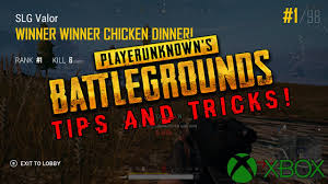 pubg tips xbox advanced pubg tips and tricks for beginners xbox one youtube