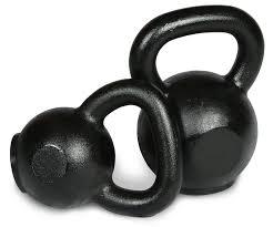 cast iron kettle bells intek strength
