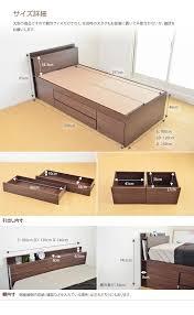 sofa bed with storage box kagu350 rakuten global market with storage bed storage box bed