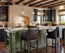 Kitchen Granite Island by Kitchen Attractive Natural Kitchen Decor With Grey Mosaic Tile