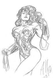 wonder woman sketch by allpat on deviantart