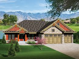 wonderful ranch house plans with 3 car garage house design and