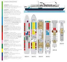 Majesty Of The Seas Floor Plan Adventure Canada Arctic Antarctic East Coast Cruises