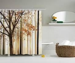 Autumn Colored Curtains Autumn Colored Shower Curtains Shower Curtain Ideas
