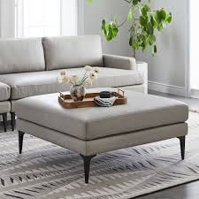 west elm andes sofa review andes leather ottoman west elm
