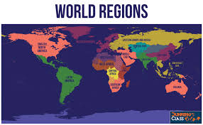 Middle East Map Labeled by World Regions Map Labeled World Regions Map World Regions Map