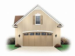 Carriage House Plans Detached Garage Plans by Two Car Garage With A Above Apartment Car Garage Loft Plan 028g