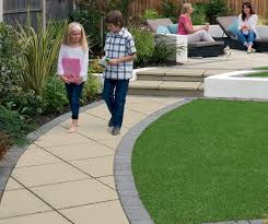 Garden Paving Ideas Uk Saxon Textured Garden Paving Marshalls Co Uk