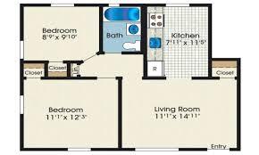 2 bedroom ranch floor plans square bedroom 2 house plans with open floor plan simple modern