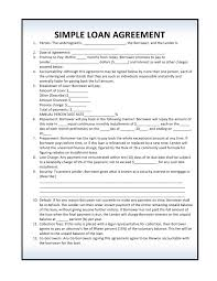private business loan agreement template private business loan