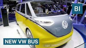 the classic vw bus is coming back as an all electric vehicle youtube
