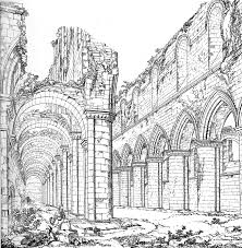 medieval fountains abbey west end screen sized version large