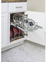 kitchen sink cabinet caddy hardware resources pots and pan lid organizer for 15 base cabinet mplo215 r