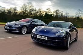 Porsche Panamera Next Gen - porsche panamera vs tesla model s auto express