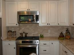 houzz kitchen backsplash tumbled travertine backsplash houzz