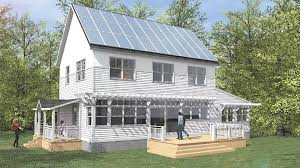 Zero Energy Home Design by Cushing Design Zero Energy Home Healthy Beautiful Modular