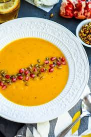 roasted butternut squash soup with goat cheese recipe chefdehome com