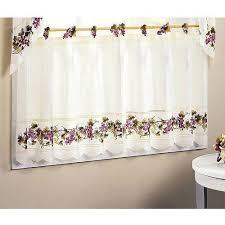 Walmart Kitchen Curtains Valances by Kitchen Curtain Set Gorgeous Walmart Kitchen Curtains Kitchen